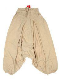 Pantalón amplio estilo Mod Crudo