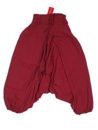 Pantalón amplio estilo Mod Granate