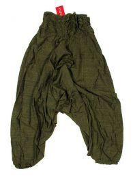 Pantalón amplio estilo Mod Verde