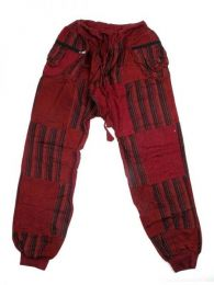 Pantalón hippie patchwork Mod Granate
