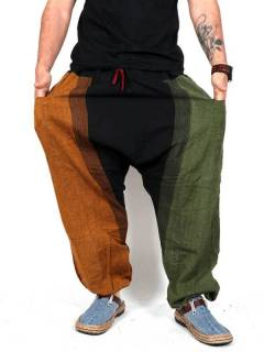 PAEV14 unisex ethnic harem pants to buy wholesale or detail in the Hippie and Alternative Clothing category for Men | ZAS Hippie Store.