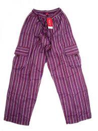 Pantalón hippie 100% Mod Morado