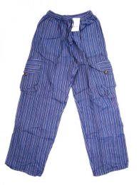 Pantalones Hippies - Pantalón hippie 100% PAEV16 - Modelo Azul