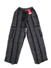 Pantalones Hippies - Pantalón hippie 100% PAEV16 - Modelo Negro2