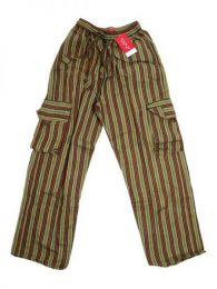 Pantalón hippie de rayas PAEV16 para comprar al por mayor o detalle  en la categoría de Bisutería Hippie Étnica Alternativa.