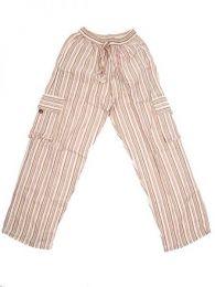 Pantalones Hippies - Pantalón hippie 100% PAEV16 - Modelo Crudo