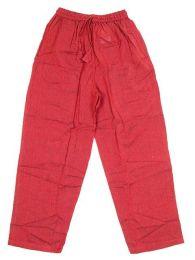Pantalones Hippies - Pantalón hippie 100% PAEV17 - Modelo Rojo