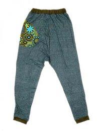 Pantalon de tela tipo chandal Mod Verde
