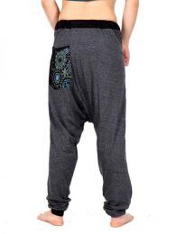 Pantalon de tela tipo chandal detalle del producto