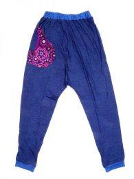 Pantalon de tela tipo chandal Mod Azul os
