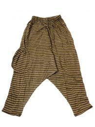 Pantalones Hippie Harem Boho - Pantalon de algodón PAEV19 - Modelo Verde