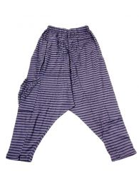 Pantalones Hippies Harem Boho - Pantalon de algodón PAEV19 - Modelo Gris
