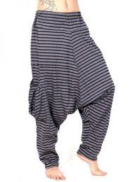 Pantalon Harem de rayas Hippie PAEV19 para comprar al por mayor o detalle  en la categoría de Ropa Hippie para Mujer.