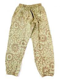 Pantalones Hippies - pantalón hippie, harem. PAEV20 - Modelo Verde