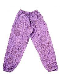 Pantalones Hippies - pantalón hippie, harem. PAEV20 - Modelo Morado