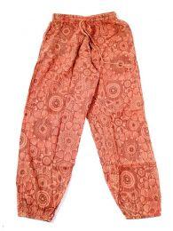 Pantalones Hippies - pantalón hippie, harem. PAEV20 - Modelo Naranja