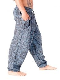 Pantalones Hippies - Pantalón étnico harem unisex [PAEV20] para comprar al por mayor o detalle  en la categoría de Ropa Hippie Alternativa para Hombre.