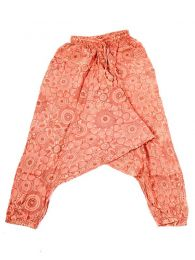 Pantalones Hippies - pantalón hippie, harem PAEV21 - Modelo Naranja