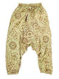Pantalones Hippies - pantalón hippie, harem PAEV21 - Modelo Verde