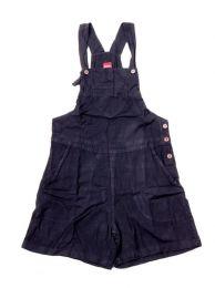 Pantalones Hippie Harem - Peto corto muy confortable PAEV22 - Modelo Negro