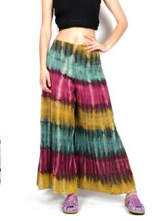 Hippie Tie Dye Multicolor Pants to buy wholesale or detail in the category of Hippie Women's Clothing | ZAS Alternative Store [PAEV25].