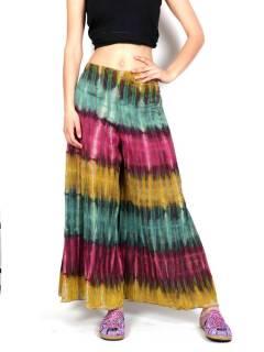 Hippie Tie Dye Multicolor Pants, pour acheter en gros ou détail dans la catégorie Vêtements Femme Hippie | Magasin alternatif ZAS. [PAEV25]