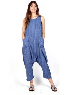 Striped Hippie Dungarees to buy wholesale or detail in the Hippie Women's Clothing category | ZAS Alternative Store [PAEV28].