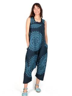 Salopette hippie mandala giganti, da acquistare all'ingrosso o dettaglio nella categoria di abbigliamento femminile hippie | Negozio alternativo ZAS. [PAEV29]
