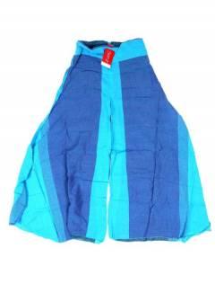 Pantalones Hippies y Alternativos - Pantalón hippie, harem. PAEV30 - Modelo Azul