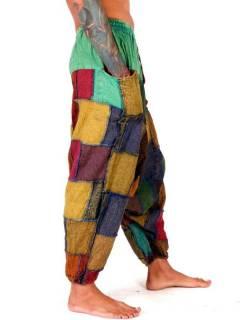 Pantalones Hippies y Alternativos - Pantalón hippie tipo PAEV34.