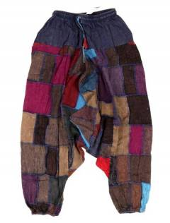Pantalones Hippies y Alternativos - Pantalón hippie tipo PAEV34 - Modelo Gris