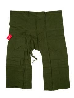 Pantalones Hippies Harem Yoga - Pantalon PAFHL - Modelo Verde