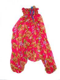 Pantalones hippies saris reciclados. detalle del producto