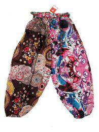 Pantalón patchwork detalle del producto