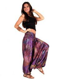 Pantalón hippie satén detalle del producto