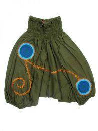 Pantalón de algodón Mod Verde