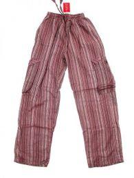 Pantalón 100% algodón Mod Marrón