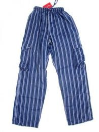 Pantalón 100% algodón Mod Azul ry