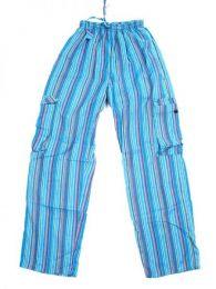 Pantalón 100% algodón Mod Azul cl