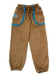 Hippie pants with OM in pocket PAHC31 to buy wholesale or detail in the category of Alternative Ethnic Hippie Jewelery.