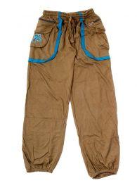 Pantalón Hippie con OM en bolsillo PAHC31 para comprar al por mayor o detalle  en la categoría de Complementos Hippies Alternativos.