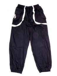 Pantalones Hippies - Pantalón hippie 100% PAHC31 - Modelo Negro