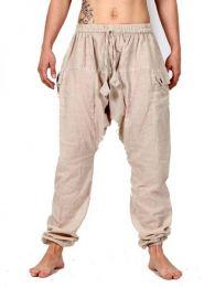 Pantalones Hippie Harem - Pantalón Hippie Liso [PAHC33] para comprar al por mayor o detalle  en la categoría de Ropa Hippie Alternativa para Mujer.
