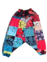 Pantalones Hippies - Pantalón Harem de tiro PAHC35.