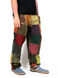 Pantalón hippie Patchwork,  para comprar al por mayor o detalle  en la categoría de Ropa Hippie y Alternativa para Hombre | ZAS Tienda Hippie. [PAHC39]