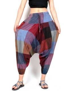 Ethnic unisex harem pants, to buy wholesale or detail in the Hippie and Alternative Clothing category for Men | ZAS Hippie Store. [PAHC40]