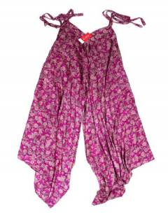 Monos Petos y Vestidos largos - Peto - pantalón vestido PAHC41 - Modelo Rosa