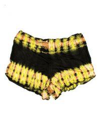 Pantalón corto hippie Mod Amarillo