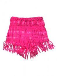 Pantalón corto hippie Mod Rosa
