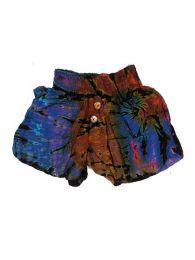Pantalón corto hippie Mod Morado